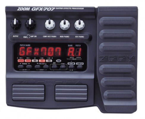Pedalera GFX ZOOM 707
