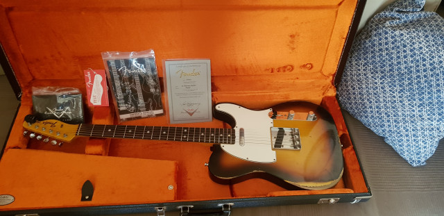 Fender Telecaster Custom Shop Heavy Relic 67
