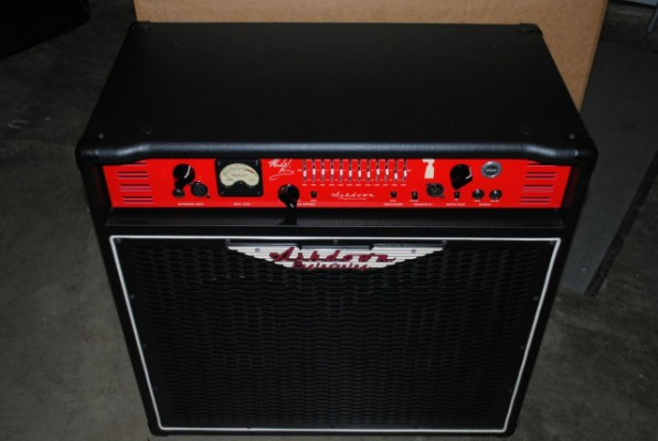 Amplificador de bajo ASHDOWN LABS MK-500 Mark King Signature Comb