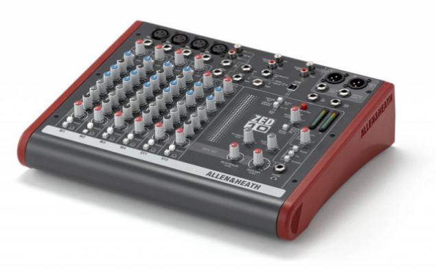 Allen Heath Zed 10, mesa de mezclas USB analógica.