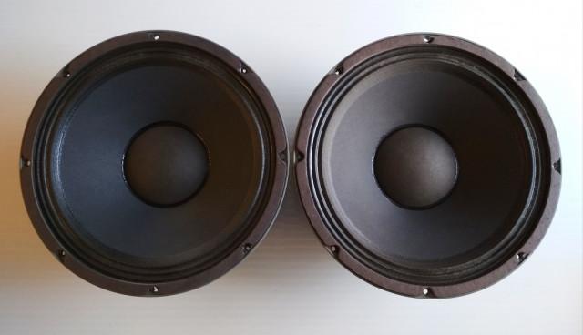 """PAR ALTAVOCES MESA BOOGIE ELECTRO VOICE EVM BLACK SHADOW 12"""" 200W. 8 Ohms"""