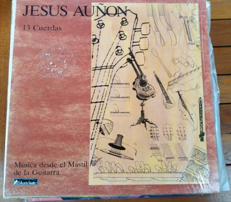 """Jesús Auñón: """"13 cuerdas"""". Disco vinilo colección ¡¡¡REBAJADO!!!"""