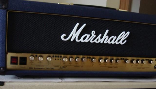 Marshall 6100  30 th blue tolex