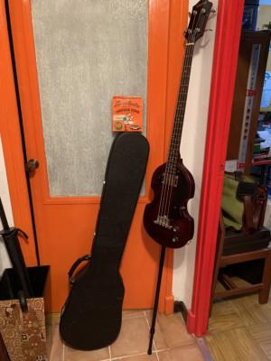 Epiphone EB1 Violin Bass (con trastes) +endpin (upright bass mod) + estuche