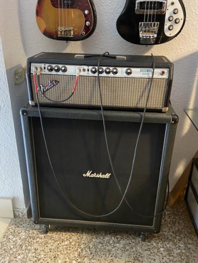 Fender Bassman 100 Silverface de los 70