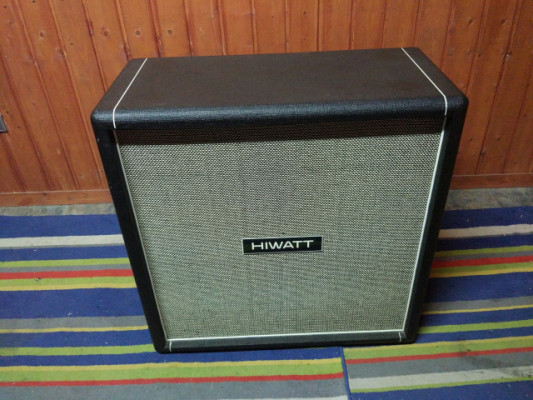 Hiwatt SE4123F Custom Shop 4X12 Cabinet Fane Purple Made in England 2008