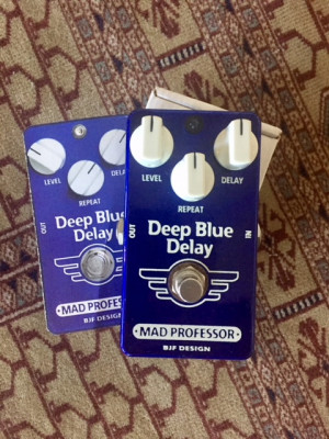 Mad Professor Deep Blue Delay Handwired