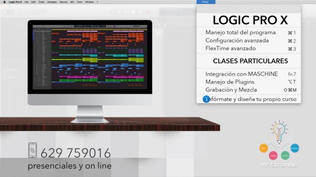 Clases Logic Pro X