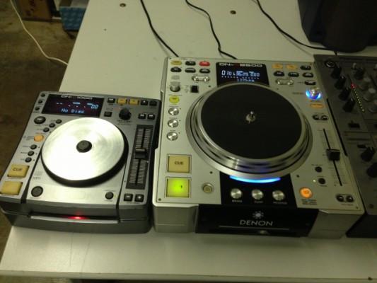 ENDO CDS 2-DENON DN-S3500 i 2- DENON DN-S1000.