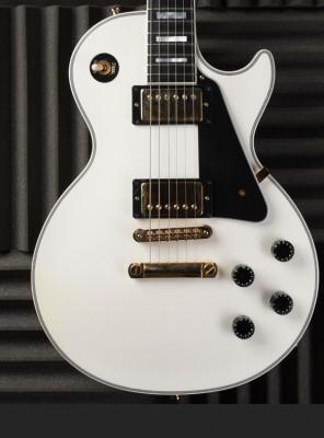 Gibson Les Paul Custom White ligera (4,1-4,3kg)