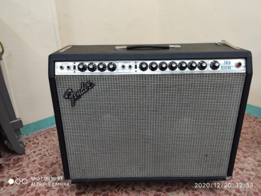 Amplificador Fender Twin Reverb