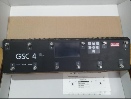 Vendo y cambio G lab gsc4