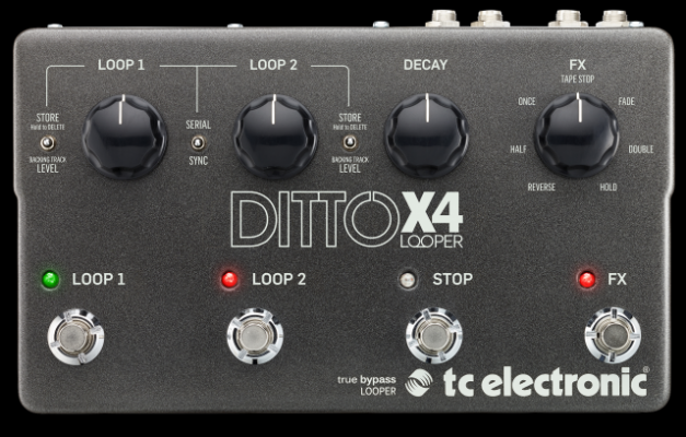 Compro Ditto x4 Tc Electronic