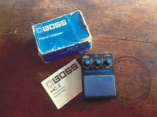 BOSS HC-2 (Hand Clapper). AÑADO CAMBIOS.