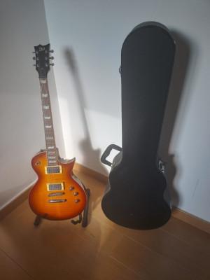 Guitarra eléctrica Ltd estilo les Paul