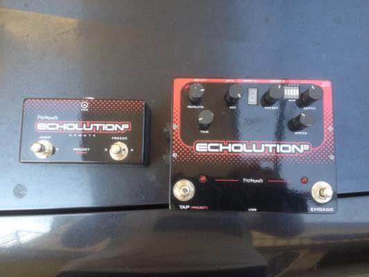 Pigtronix echolution 2 + remote