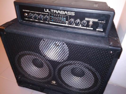 Behringer Ultrabass+Pantalla 2x10