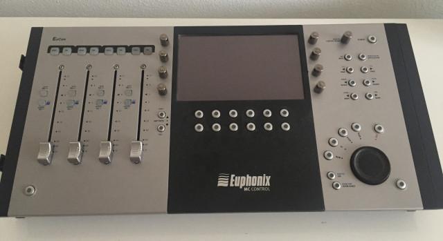 Vendo Euphonix MC control
