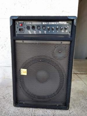 """Monitor amplificado """"the box MA120 MKII"""