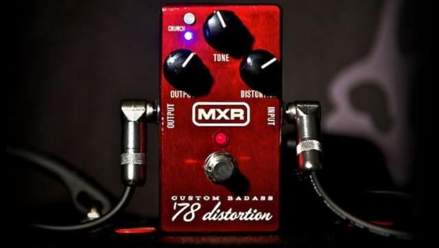 MXR Custom Badass 78 Distortion VENDO / CAMBIO