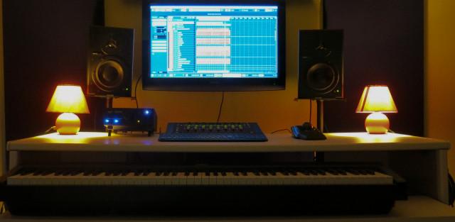 Estudio de grabación Blue Records