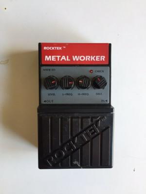 Pedal Rocket Metal Worker