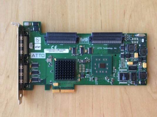 Tarjeta ATTO LVD SCSI Dual-Channel