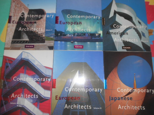 libros de arquitectura del mundo. taschen