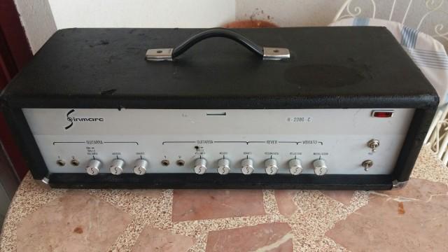 Sinmarc R-2280 C de los ´70 Pantalla 4x12