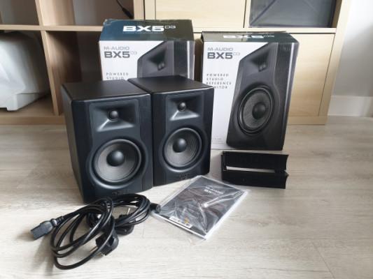 Monitores activos M-Audio BX5 D3