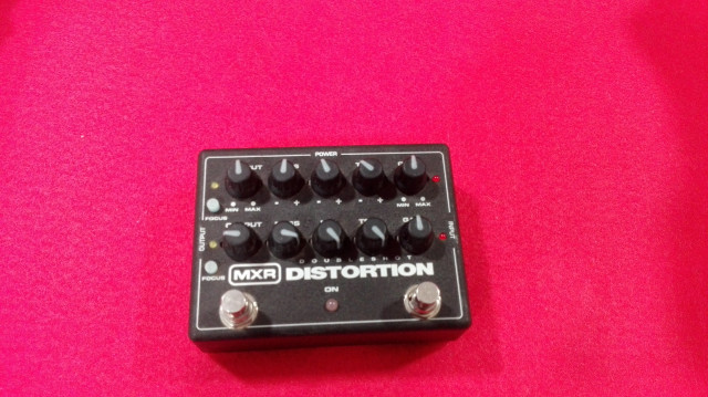 MXR DOUBLESHOT DISTORTION