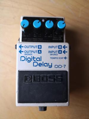 Boss dd7 el mitico pedal