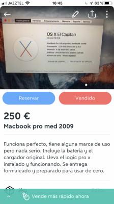 """Macbook pro 2009 13"""""""