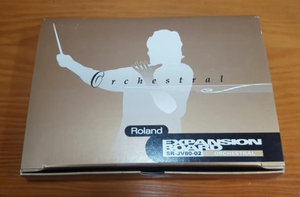 Expansion Roland SR-JV80-02 Orchestral