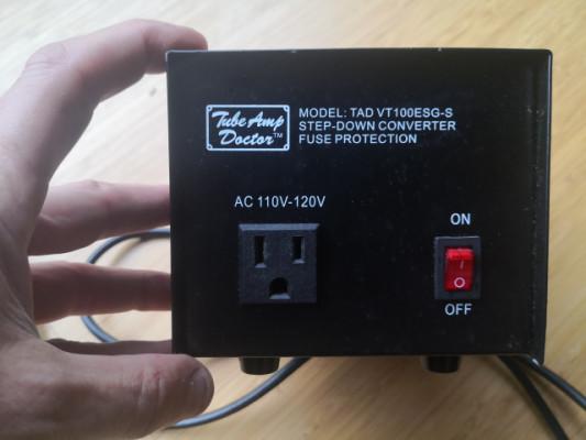Step-down converter tube-amp doctor