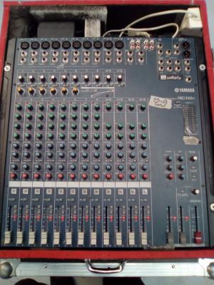 mesa de mezclas YAMAHA MG166