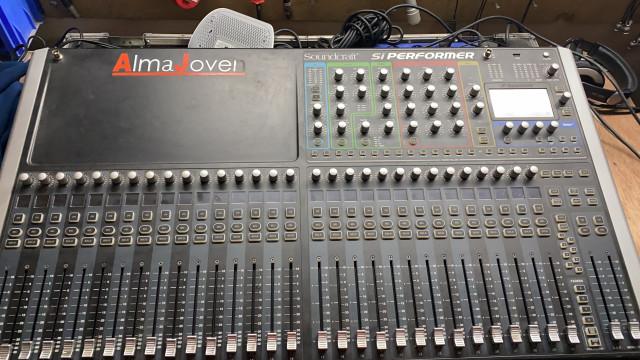 Vendo soundcraft si perfomer 3+stagebox