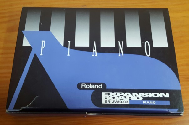 Expansion Roland SR-JV80-03 Piano