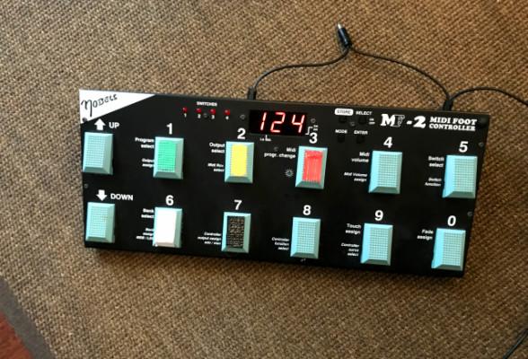 Pedalera MIDI NOBELS MF-2 (Envio Incluido)