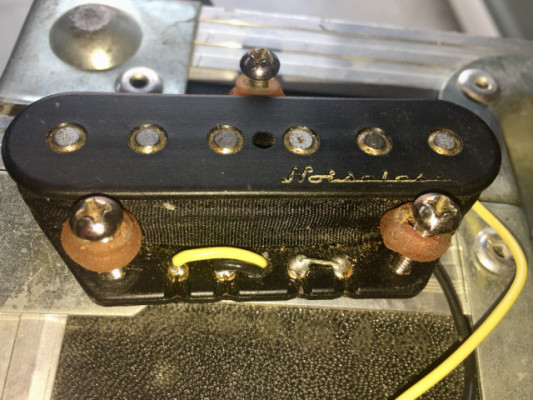 Fender noiseless puente telecaster