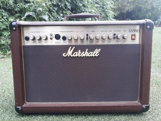 Amplificador para guitarra acústica Marshall AS50D