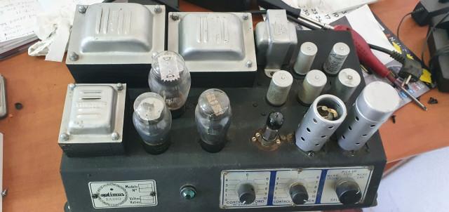 Vendo/cambio Amplificador optimus + altavoz orange