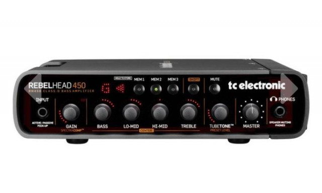 Cabezal TC Electronic Rebel Head 450+ Hartke HD410