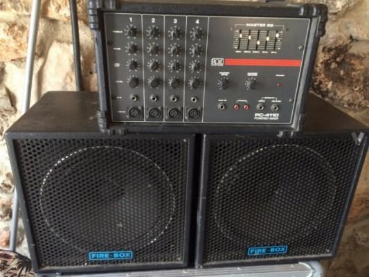 Equipo de voces de 150 W Ross PC-4110