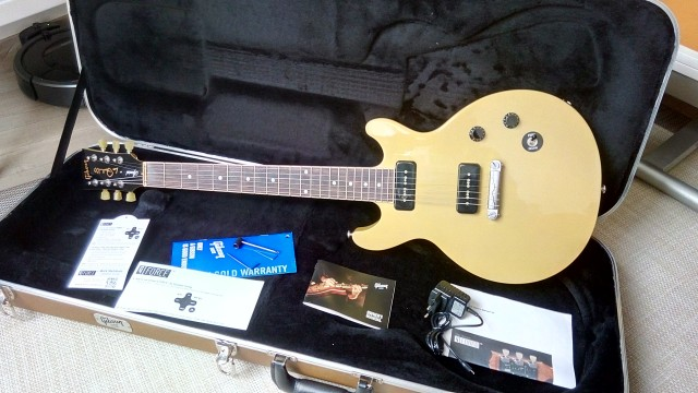Gibson Les Paul Special DC TV yellow