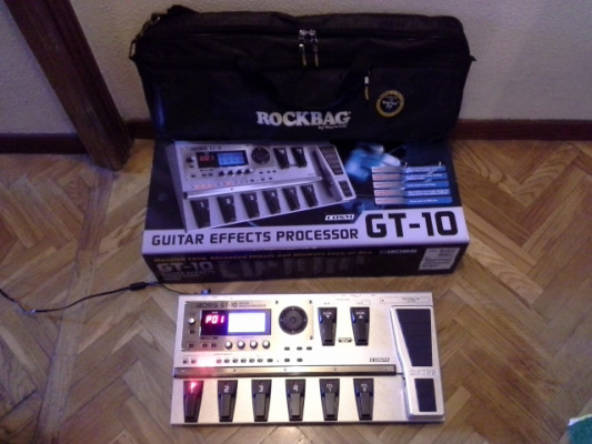 Boss multiFX GT-10