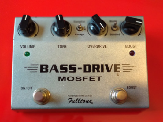 Fulltone BassDrive Mosfet