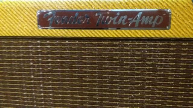 FENDER custom shop 57 Twin amp