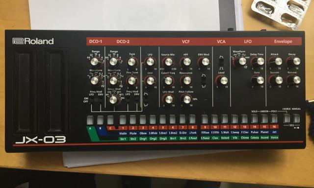 Vendo Roland JX-03