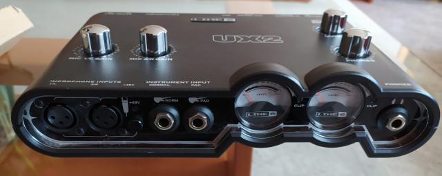 Tarjeta de sonido líne 6 POD Studio UX2